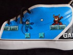 Side panel - Mega Man